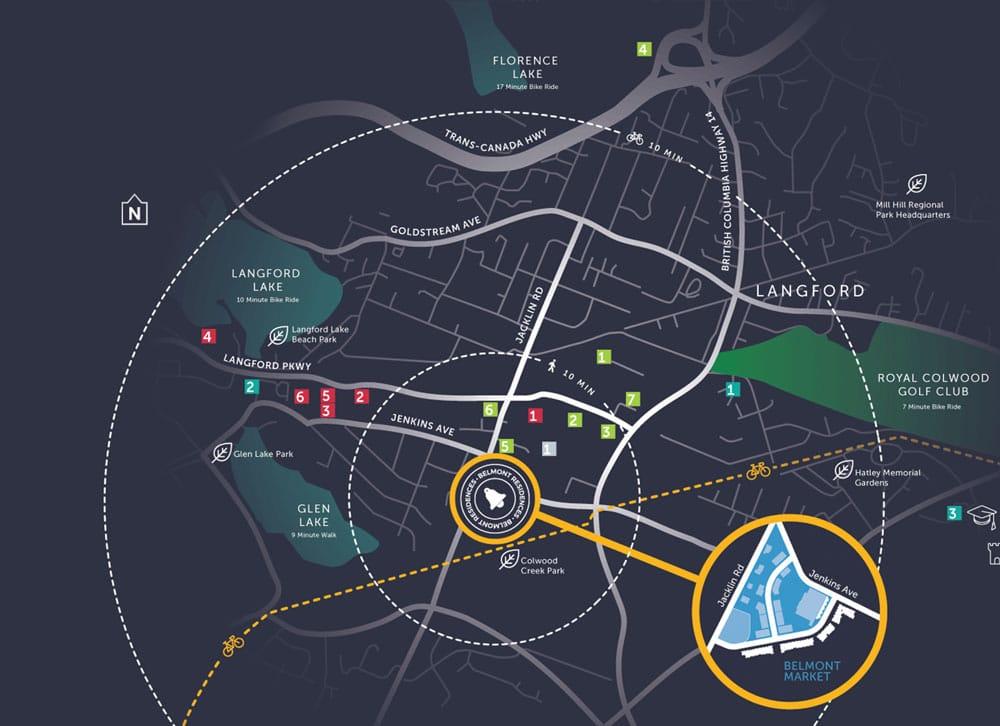 Langford Map